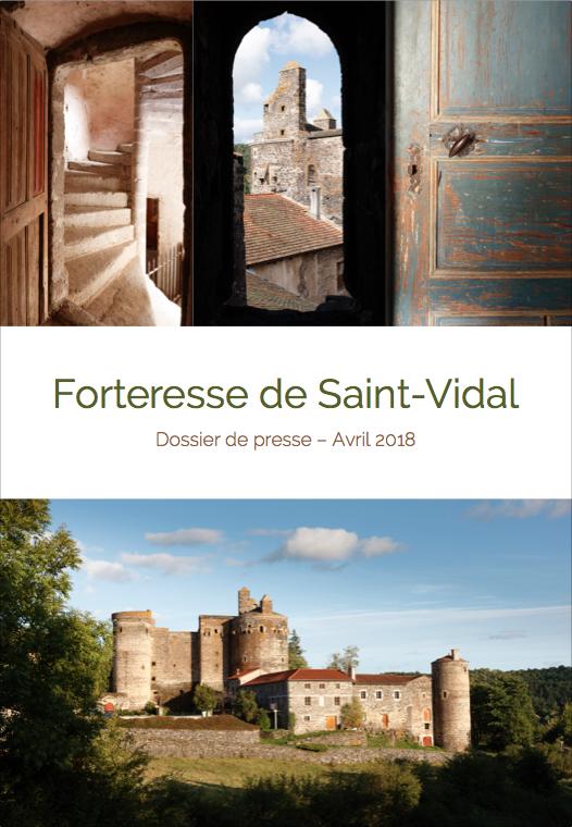 Dossier de presse de la Forteresse de Saint Vidal