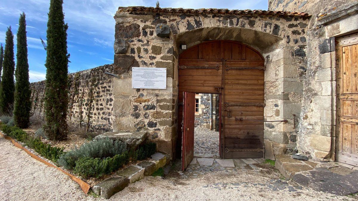 Photo de l'entrée de la Forteresse